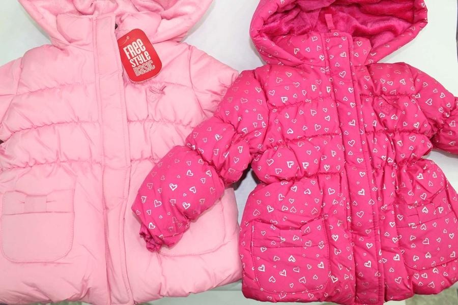 Áo gió hồng cho bé gái